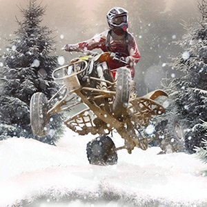 Snow Racing ATV