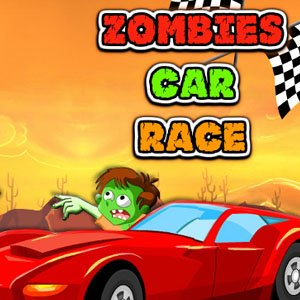 Zombie Car Race HD